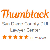 Thumbtack San Diego DUI Reviews