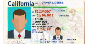 Extension for the Real California ID
